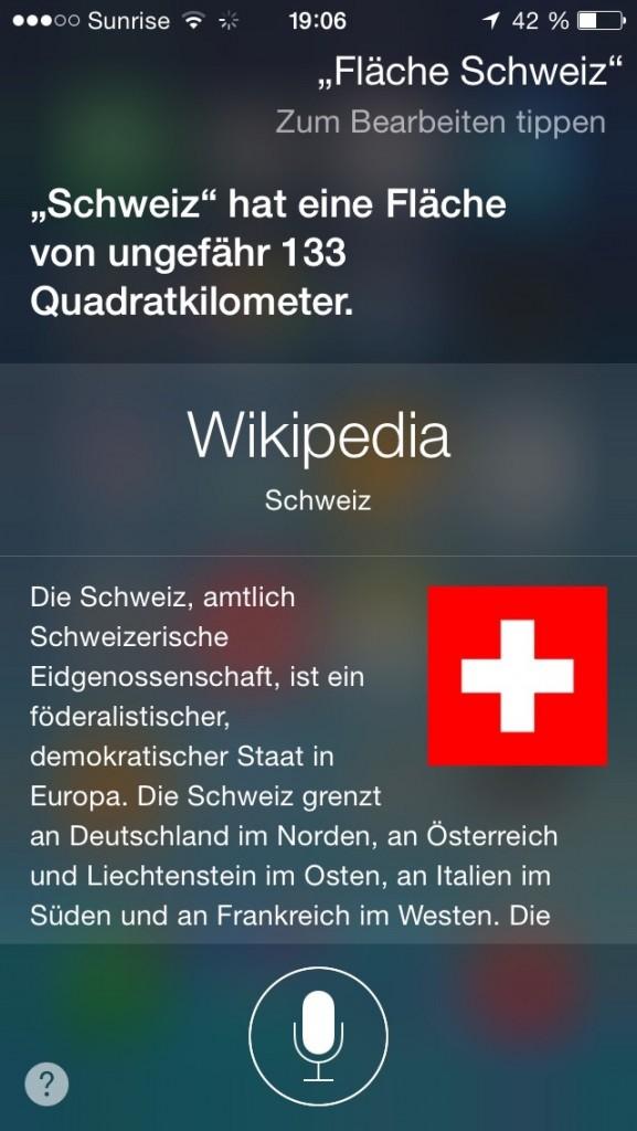 schweiz: 133 quadratkilometer.