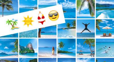 hotelplan-werbung mit emojis.