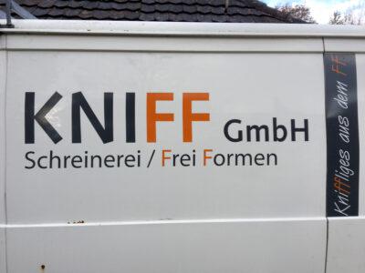 kniff / frei formen.