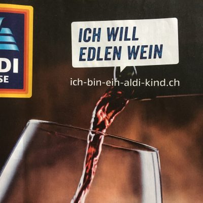 aldi-kind will wein.
