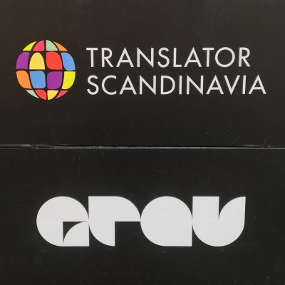 translator scandinavia. grau.