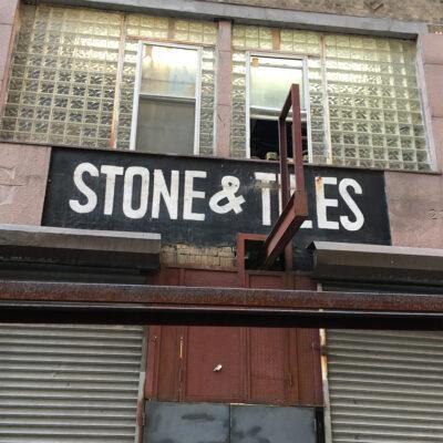 stone & tiles.