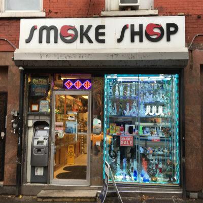 smoke shop.