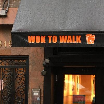 wok to walk.