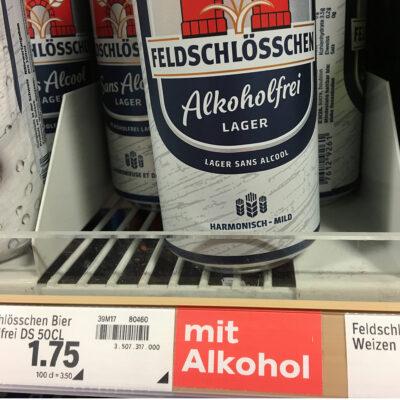 alkoholfrei – oder auch nicht.
